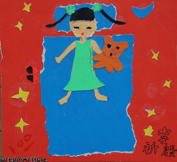 海绵纸粘贴画图片大全幼儿粘贴画作品幼儿纸粘贴